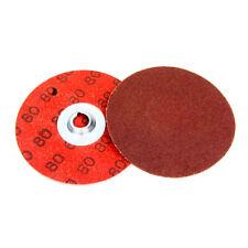 """Merit 69957399776 2/"""" TP Quick Change Disc 50 Grit 100-Pack"""