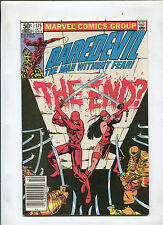 DAREDEVIL #175 (7.5) ELEKTRA THE END!