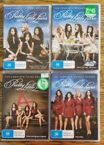 Pretty Little Liars Season 1-4 DVD, Region 4, TV Complete Series 1 2 3 4