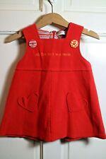♡  Agatha Ruiz De La Prada Red Dress Hearts 18 Months  ♡