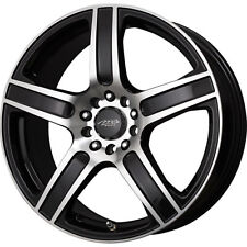 4 New 18X7.5 45 Offset  5x100/5x114.3 MB Motoring Icon Black Wheels/Rims 18 Inch