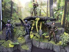 1/12 Scale 3 Piece Jungle Diorama Star Wars NECA Mezco GI Joe Marvel