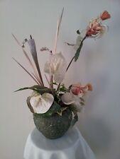 "Desperate/Divorce Sale: DECORATOR LARGE Artificial flower arrangement 29"" high"