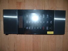 Frigidaire Microwave 5304509664 Control Panel with overlay Black Stainless Steel