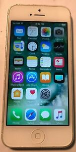Apple iPhone 5 16GB White (Sprint) A1429 Fast Ship GSM Very Good Used