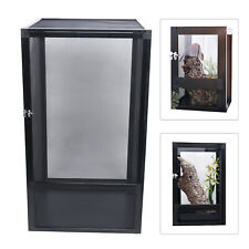 Pet Reptile Breeding Box Insect Spider Frog Feeding Tank Cage Case Ventilation