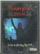 Movie DVD - SUPERJOINT RITUAL Live in Dallas, TX 2002 - Pre-Owned - Sanctuary