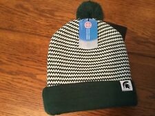69fd27597e4 Nike Michigan State Spartans Women s Cuffed Knit Beanie Hat Removable Pom
