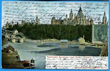 CPA CANADA : Parliament Buildings from River - Ottawa / 1904
