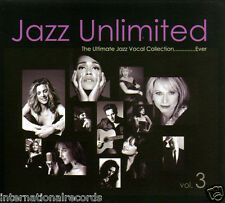 """""""Jazz Unlimited Vol.3"""" Jazz Vocal Collection DW Mastering Audiophile 2-CD New"""