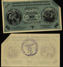 Russia Germany Ostland Wi in nord - 10 Punkte - 1943/1944, KR#38, canceled