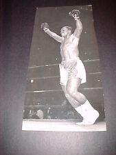 JOE FRAZIER VS CHUVALO TKO 1967 ORIG. PRESS PHOTO
