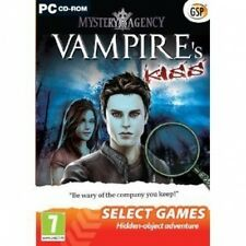 Mystery Agency: A Vampire's Kiss (PC DVD) BRAND NEW SEALED