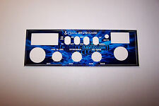 Cobra 25 LTD Front Mic Face Plate Decal CB Radio any Design/Color Uniden Connex