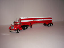 FIRST GEAR DCP 1/64 MADISON VOL. FIRE CO. MACK R MODEL&42' WATER TANK TRAILER