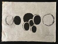 Irmgard Kanold, Siebdruck, 1970, handsigniert und datiert