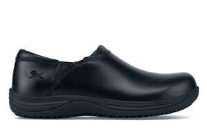 Shoes For Crews Men's Mozo Forza Black Slip Resistant Chef Shoes