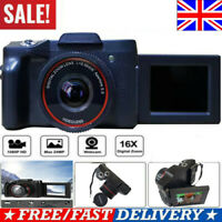 Ultra HD Digital Camera Vlogging Video Camera SLR Camera 2.4 Inch 16x Zoom=1080P