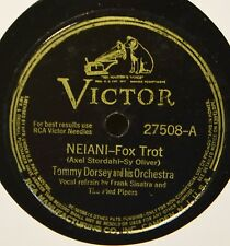 Tommy Dorsey Neani Victor 27508 78 This Love of Mine Frank Sinatra Dance Band