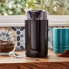 Electric Coffee Bean Grinder Spice & Nut Mill Blender NEW by Cooks Professional