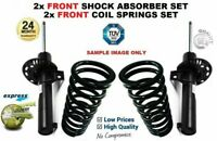2x FRONT Shock Absorbers + Coil Springs for SKODA OCTAVIA Combi 1.2 TSI 2012->on