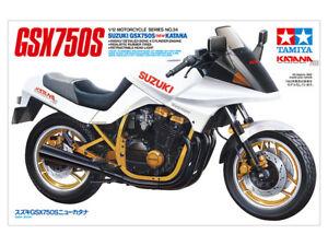Tamiya 14034 1/12 Scale Motorcycle Model Kit Suzuki GSX750S New Katana