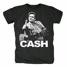 Johnny Cash T-Shirt Flippin Größe XL