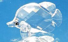 "Swarovski crystal butterfly fish 2"" swan logo"