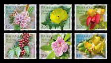 BAHAMAS  2020 MEDICAL PLANTS / FLOWERS   SET MNH