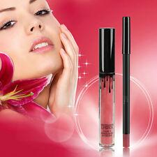 Sexy Kit de labios Kylie Jenner Lápiz labial líquido Mate Y Delineador De Labio