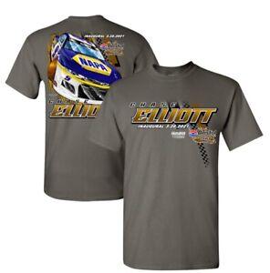 "2021 #9 Chase Elliott ""Bristol Dirt 2 Spot T-Shirt"" -4XLARGE - Same Day Ship"