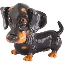 Arora Little Paws FRANKIE Dachshund Figurine   Sausage Dog Ornament   NEW DESIGN