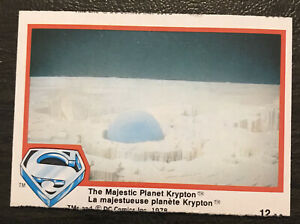 1977 O-pee-cheeCharlie's Angels # 12 The Majestic Planet Krypton *NM
