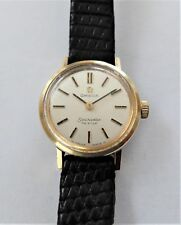 1966 GOLD CAPPED LADIES OMEGA SEAMASTER DE VILLE 17 JEWELLED WRIST WATCH WORKING