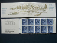 Fg5A Caledonian Canal 90 Pence Left Margin Gb Stamp Booklet Cylinder 25 No Dot