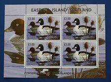 Scottland (ES01) 2004 Easdale Island Waterfowl Stamp Sheet (MNH)