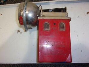 Koehler Wheat Light 4 Volt Battery Permissible Electric Lamp Miner Light Red #1