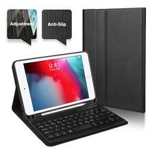 QWERTZ für 2019 iPad Mini 5 Deutsche Tastatur Bluetooth Schutzhülle & Leder Case