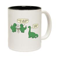 Dinosaur T-Rex Bbq Tea Novelty Barbecue Vegetarian MUG cup birthday funny gift