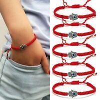 Charm 5Pcs Red String Hamsa Hand Evil Eye Lucky Kabbalah Boho Religion Bracelet