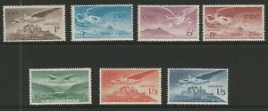 Ireland 1948-65 Complete Air set SG 140-143b Mnh.