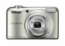 Nikon Coolpix A10 16Mp Digital Camera With 5X Zoom Aa Battery Silver F/S wTrack#