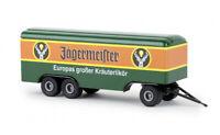 #55293 - Brekina Anhänger 3achs Koffer Jägermeister - 1:87