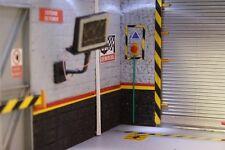 diorama  atelier  bouton poussoir coupe circuit arrêt urgence 1/18  1 pièce