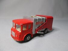 Y112  MATCHBOX LESNEY SUPER KINGS 1/85 VEHICULE MINIATURE Ref K-7 REFUSE TRUCK