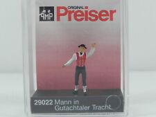 Preiser 29022 H0 Mann in Gutachtaler Tracht