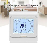 Intelligent Weekly Digital Programming Heating Thermostat with LCD Touch Screen