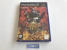 Firefighter FD 18 - Sony PlayStation PS2 - FR - Neuf Sous Blister