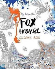 Fox Travel: Coloring Book by Goloveshkina, Olga -Paperback