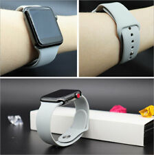 Strap for Apple iWatch Watch 5 4 3 2 1 38/40 42/44 Color Silicone Watch